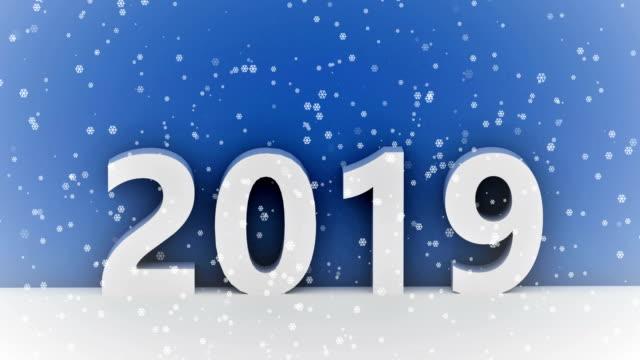 2019 積雪 - クリスマスカード点の映像素材/bロール