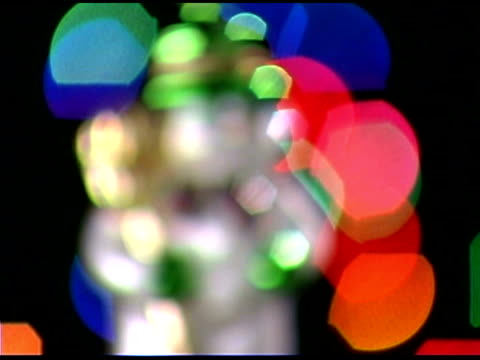 snowman ornament - aufblenden stock-videos und b-roll-filmmaterial