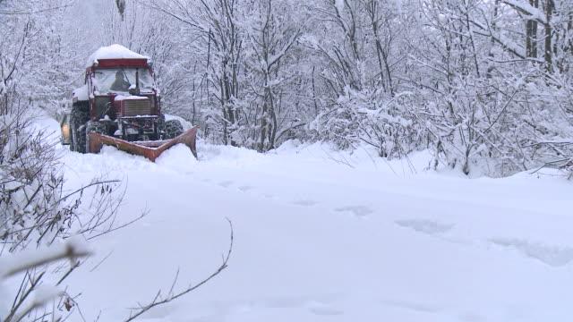 hd: snowplow - plowing stock videos & royalty-free footage