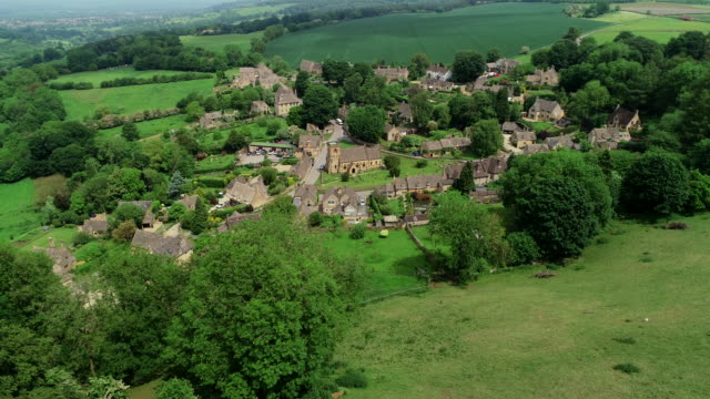 snowshill village, cotswolds, england - cotswolds stock videos & royalty-free footage