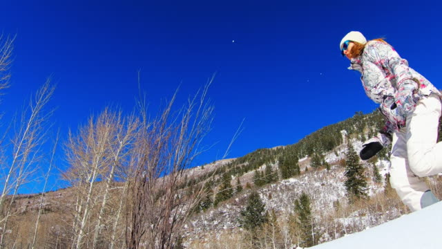 snowshoe, snowshoeing - snow cornice stock videos and b-roll footage
