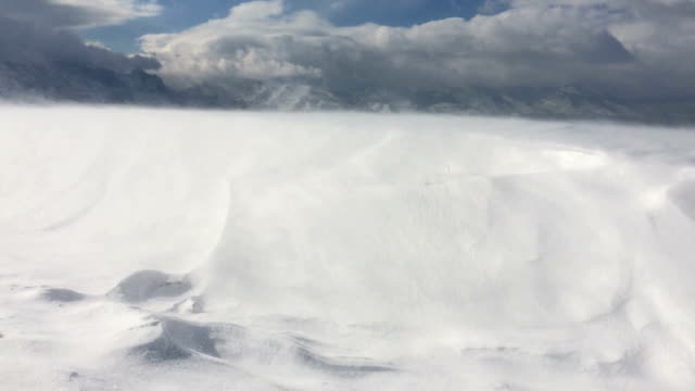 snowstorm - snow storm stock videos and b-roll footage