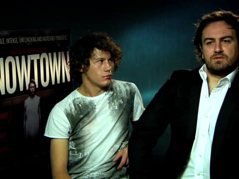 snowtown interview at the hospital club on october 19 2011 in london england - event capsule stock videos & royalty-free footage