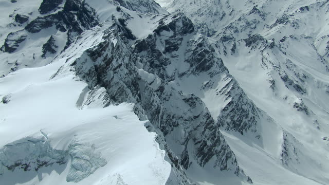 stockvideo's en b-roll-footage met snowy cliffs in the andes mountains of chile - bergketen