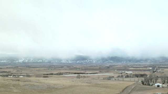 snowy cold front, timelapse - stratocumulus stock videos and b-roll footage