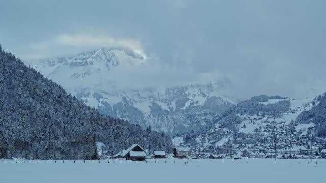 Snowy Engelberg