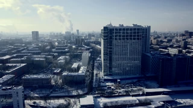 snowy moscow russia - moscow russia stock videos and b-roll footage