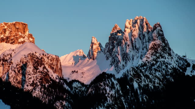 snowy mountain. - mountain pass stock videos & royalty-free footage