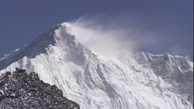 Snowy peak, Himalayas, Nepal Available in HD