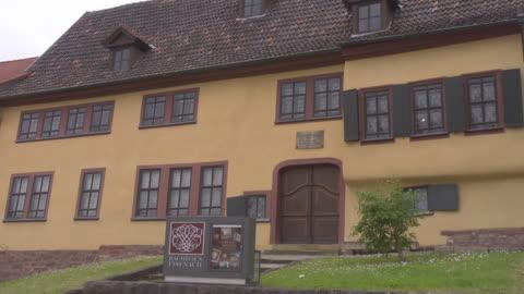 """so called """"bach house """" - johann sebastian bach stock videos & royalty-free footage"""
