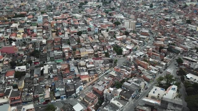 vídeos de stock e filmes b-roll de são paulo slum of vila missionary - são paulo