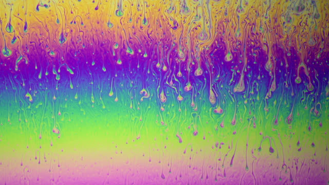 Soap film colours
