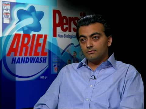 product war london gir shailendra kumar interviewed sot tv advertising keeps brands at front of consumers' minds and that helps generate loyalty that... - loyalty stock videos & royalty-free footage