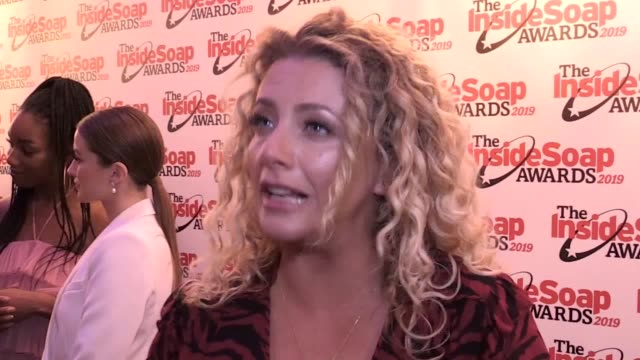 tv soap stars have attended the inside soap awards in central london includes interviews with emmerdale's louisa clein and dominic brunt and... - soap opera stock videos & royalty-free footage