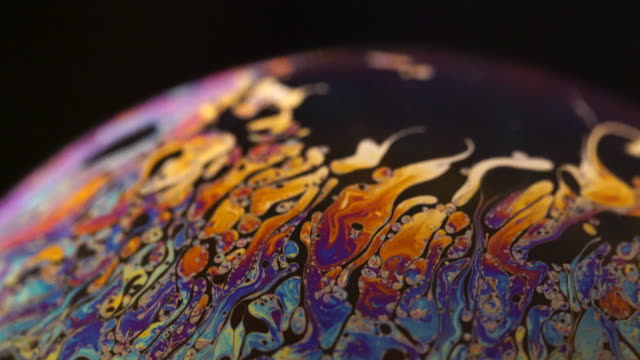 soap surface under extrem macro lens - soap sud stock videos & royalty-free footage