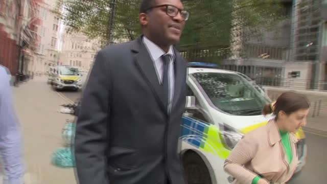 soaring energy prices: help sought from treasury to support industry; 7.10.2021 england: london: westminster: ext various of kwasi kwarteng mp along... - pursuit concept stock videos & royalty-free footage