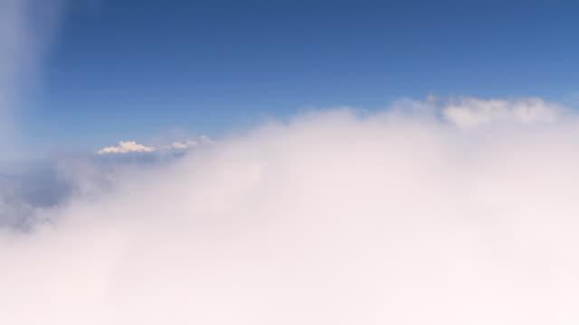 2010 POV Soaring through high clouds and blue skies / Santiago de Chile, Gran Santiago, Chile