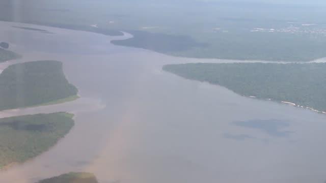 Sobrevolando el pulmon del planeta CLEAN Amazonia vista desde el cielo on May 29 2012 in Altamira Brazil