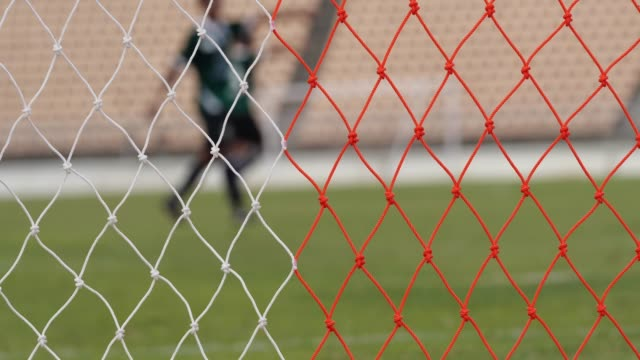 socce blurred motion - soccer goal stock videos & royalty-free footage