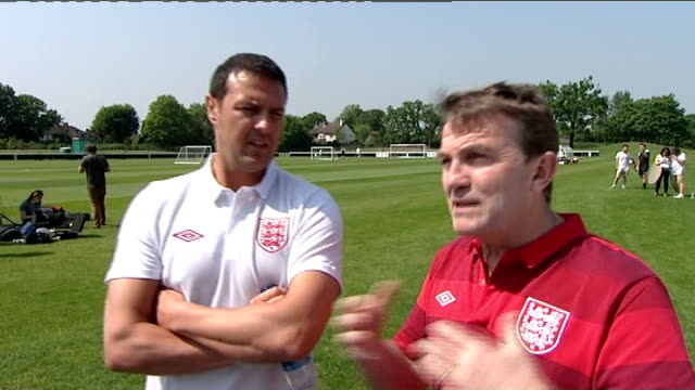 press day interviews Paddy McGuinness and Bradley Walsh interview and talking to press SOT David Seaman Jamie Theakston and Jason Isaacs interview...