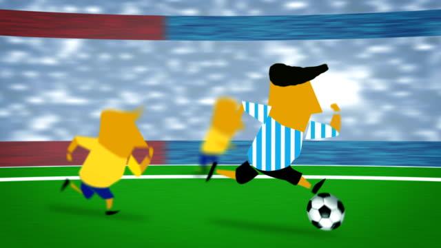 soccer Argentina Brazil ball