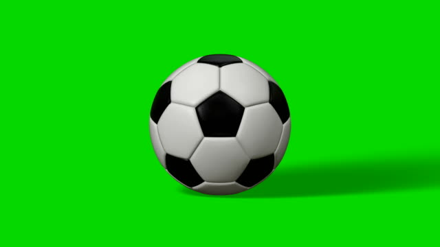 Soccer Ball (Football) 4k Transition (to Change picture and make Replays)