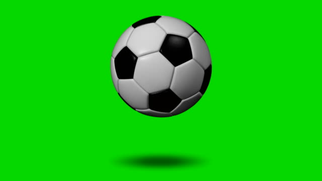 soccer ball (football) 4k transition (to change picture and make replays) - bouncing stock videos & royalty-free footage