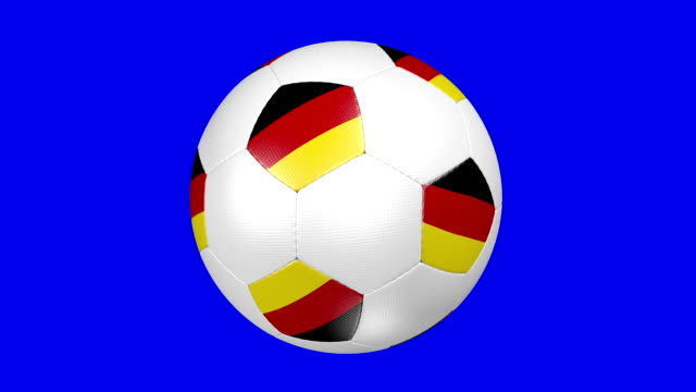 stockvideo's en b-roll-footage met soccer ball germany - alle vlaggen van europa