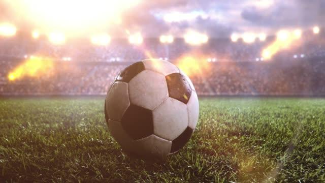 soccer ball Fußball-Stadion
