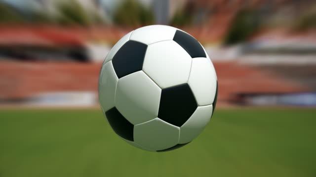 Bola de futebol no Estádio/Loopable - 4 k