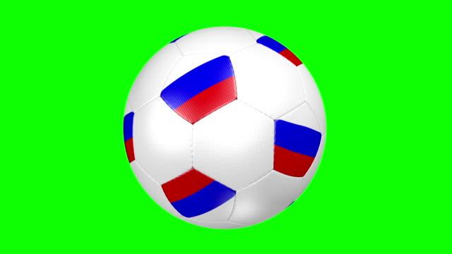 fußball ball russia - internationaler fußball stock-videos und b-roll-filmmaterial