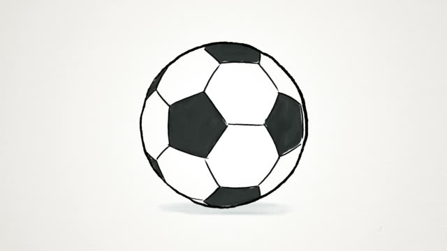 soccer ball spinning and jumping - american football ball stock videos & royalty-free footage
