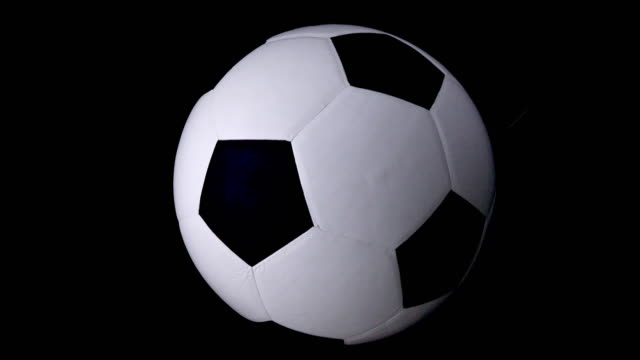soccer ball spinning - drive ball sports stock videos and b-roll footage