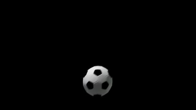 vídeos y material grabado en eventos de stock de soccer ball-tres efectos de transición - golpear