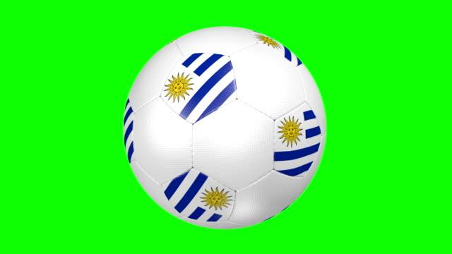 Fußball ball Uruguay