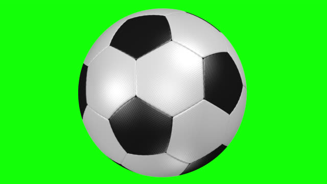 soccer ball - plain background stock videos & royalty-free footage
