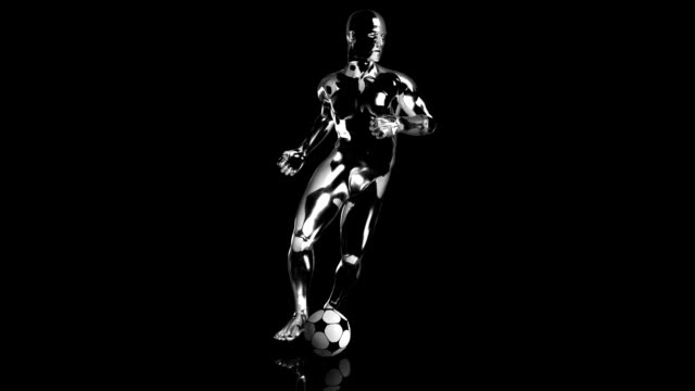 3d soccer cross man - record breaking stock videos & royalty-free footage
