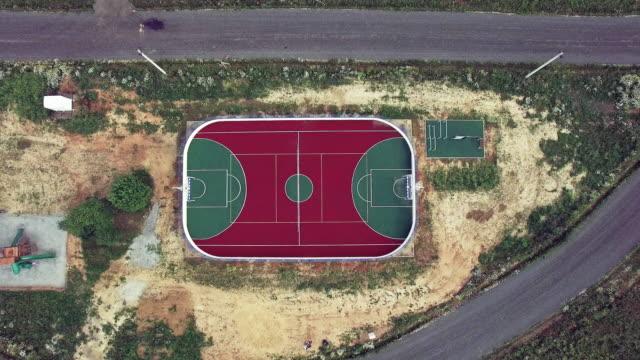 Fußballplatz - Luftbild