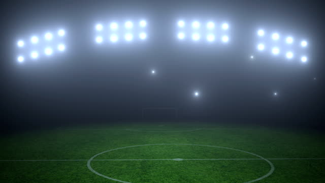 soccer field - floodlight stock videos & royalty-free footage