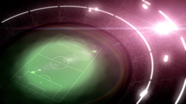 fußball-football-stadion - tribune tower stock-videos und b-roll-filmmaterial