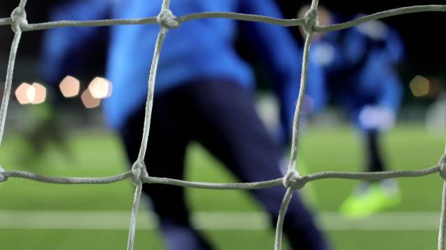 Fußball-Torhüter-Training