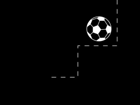 soccer graphics montage - strategie stock-videos und b-roll-filmmaterial