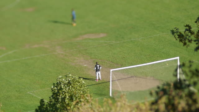 soccer match - goalkeeper - competition round stock videos and b-roll footage