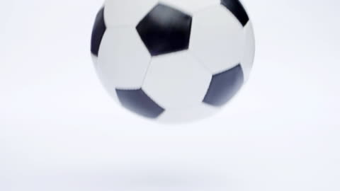 soccer or football ball bouncing. - bouncing stock videos & royalty-free footage