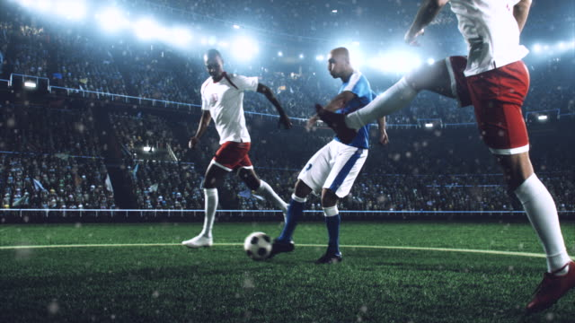 soccer player makes a dramatic play - soccer player stock videos and b-roll footage