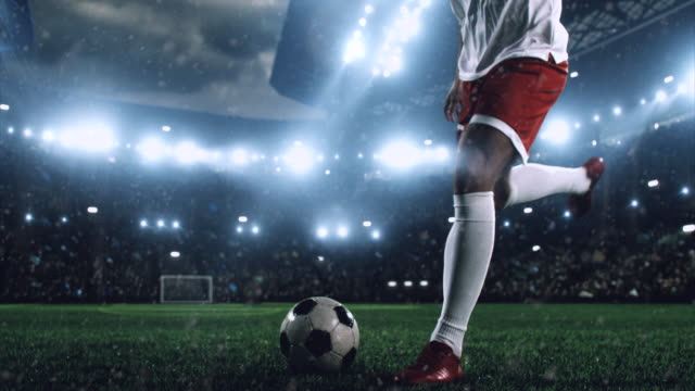soccer player makes a dramatic play - major league soccer stock videos and b-roll footage