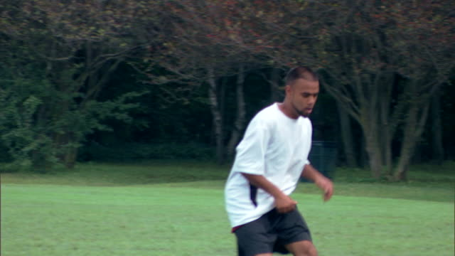 soccer player outdoors - see other clips from this shoot 1280 stock videos & royalty-free footage