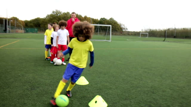 soccer practice - soccer sport stock videos and b-roll footage