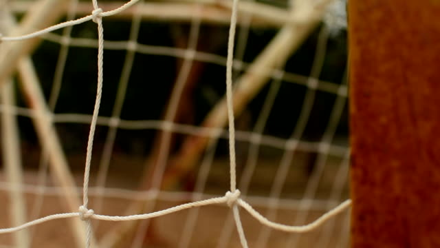 soccer scoring - netting stock videos and b-roll footage