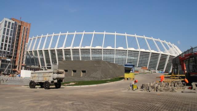 WS Soccer stadium being constructed / Kiev, Ukraine